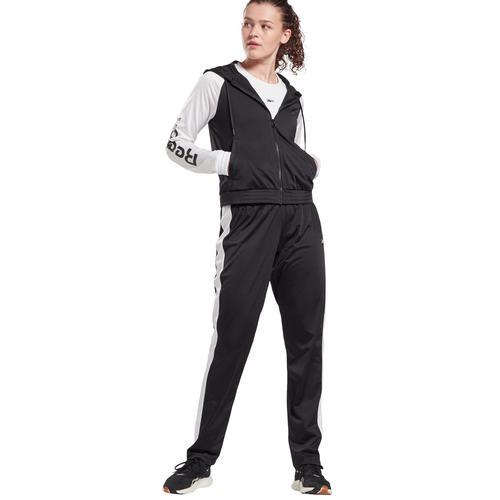 Reebok Trainingsanzug, (Set, 2 tlg.) schwarz Damen Trainingsanzug