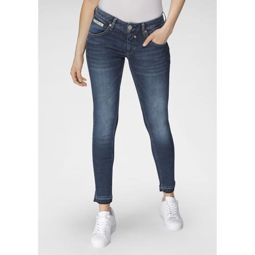 Herrlicher 7/8-Jeans TOUCH CROPPED REUSED, umweltfreundlich dank der ISKO New Technology blau Damen