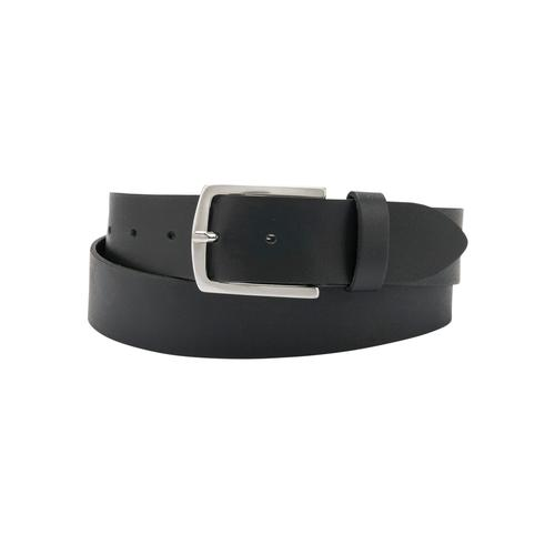 BERND GÖTZ Ledergürtel, in Extralang mit männlichem Look schwarz Damen Ledergürtel Gürtel Accessoires