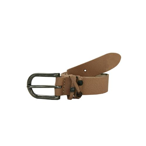 Petrol Industries Ledergürtel, mit hochwertiger Dornschließe grün Damen Ledergürtel Gürtel Accessoires