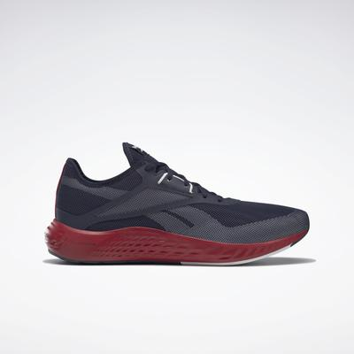 Reebok Men's Flashfilm 3 Running Shoes in Vector Navy/Ftwr White/Flash Red Size 7.5 - Running Shoes