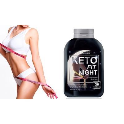 Keto Fit Night Diet Supplement: 30 Capsules