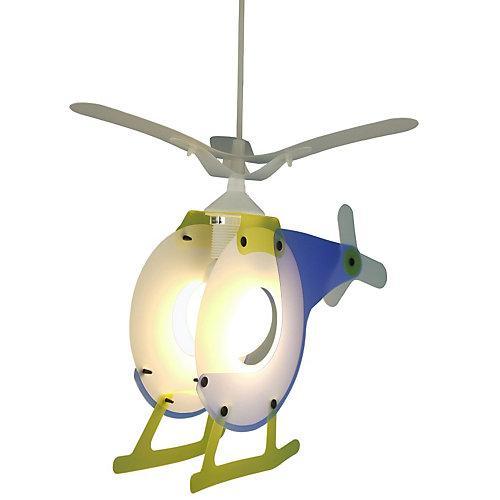 Hängelampe Hubschrauber blau