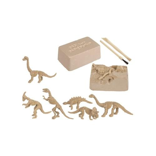 Dinosaurier-Skelett zum Ausgraben: 1