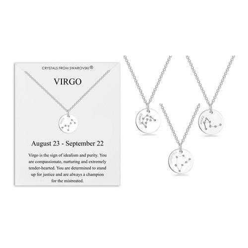 Philip Jones Halskette mit Swarovski®-Kristallen: Wassermann