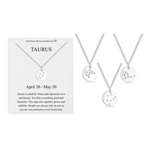 Philip Jones Halskette mit Swarovski®-Kristallen: Stier