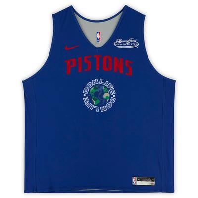 """""""Blake Griffin Detroit Pistons Practice-Used #23 Blue Reversible Jersey from the 2020-21 NBA Season - Size XL"""""""