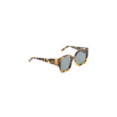 Karen Walker Sunglasses: Brown A...