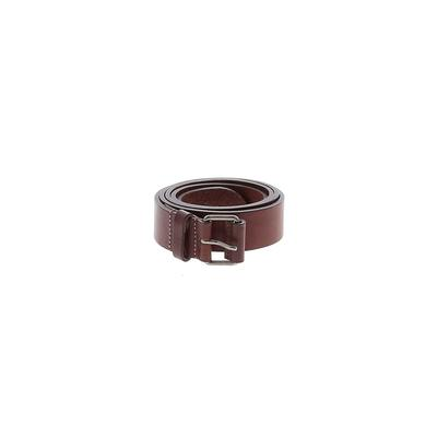 Burberry - Burberry Leather Belt: Brown Solid Accessories - Size 3