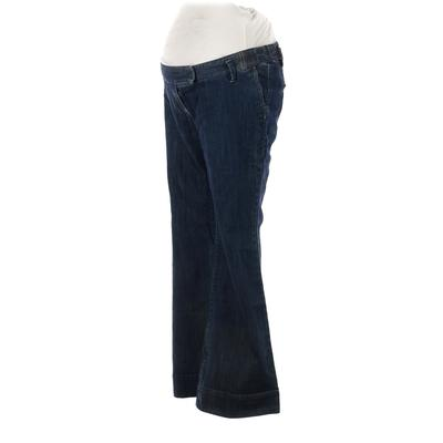 Liz Lange Maternity Jeans - Low Rise: Blue Bottoms - Size 2