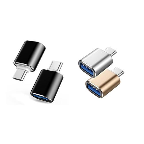 USB-C to USB 3.0 Adapter - Gold x2
