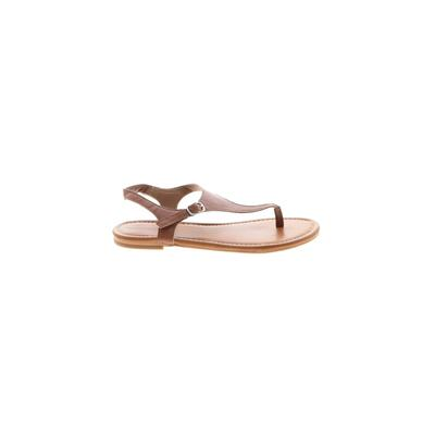 Nordstrom Sandals: Brown Solid Shoes - Size 4