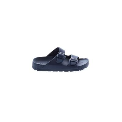 The Children's Place - The Children's Place Sandals: Blue Solid Shoes - Size 2