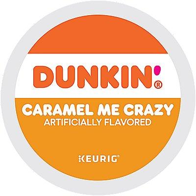 Dunkin' Caramel Me Crazy Coffee, 66-Count (3 Boxes Of 22 K-Cup® Pods 66 Ct. Coffee