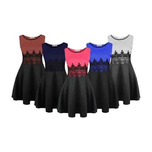 Kleid: Pfirsich / S-M