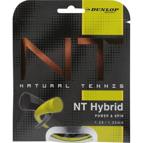 DUNLOP Tennis-Saite Revolution NT Hybrid Set 1,25, Größe ONE SIZE in Gelb/Schwarz