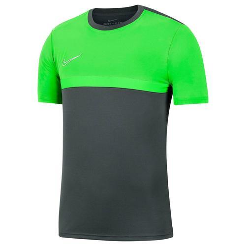 Nike Kinder Fußballshirt Kurzarm, grau/grün, Gr. 128-137