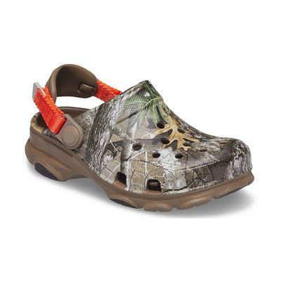 Crocs Walnut Kids' Classic All-Terrain Realtree Edge® Clog Shoes