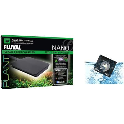 FLUVAL LED Aquariumleuchte FL Nano Plant LED, 15 Watt schwarz Aquarium-Beleuchtung Aquaristik Tierbedarf