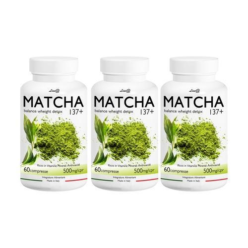 Lineadiet Matcha-Tabletten: 180 Tabletten