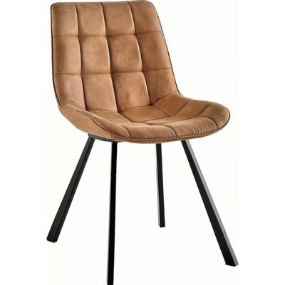 Verty Furniture - Contemporary Design Dining Chairs in Light Brown Colour - Set of 2