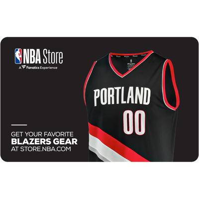 """Portland Trail Blazers NBA Store eGift Card ($10-$500)"""