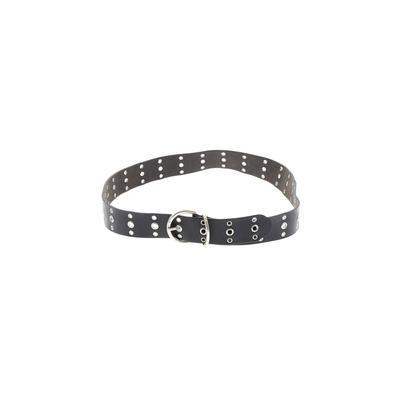 Calvin Klein - Calvin Klein Leather Belt: Black Accessories - Size X-Large