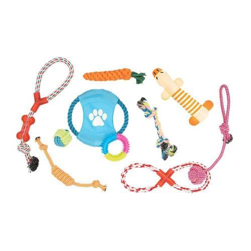 10er-Set Hunde-Trainingsspielzeug