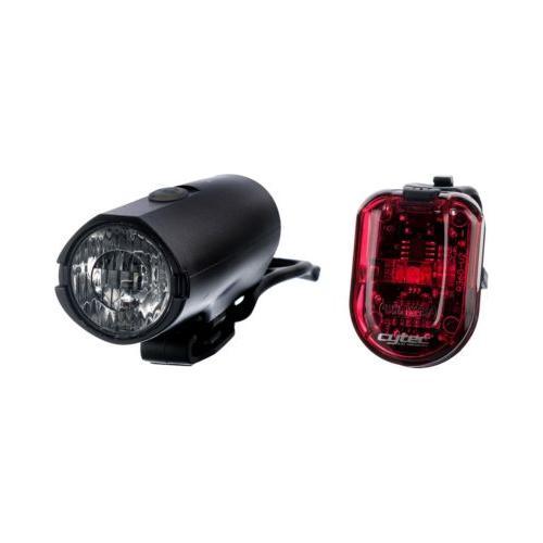 Fahrradlampe 25 LUX USB schwarz