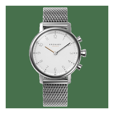 Kronaby - Nord 38 Mm Hybrid Smartwatch White Steel
