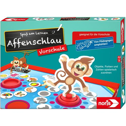 Noris Spiel Affenschlau bunt Kinder Lernspiele Lernspielzeug