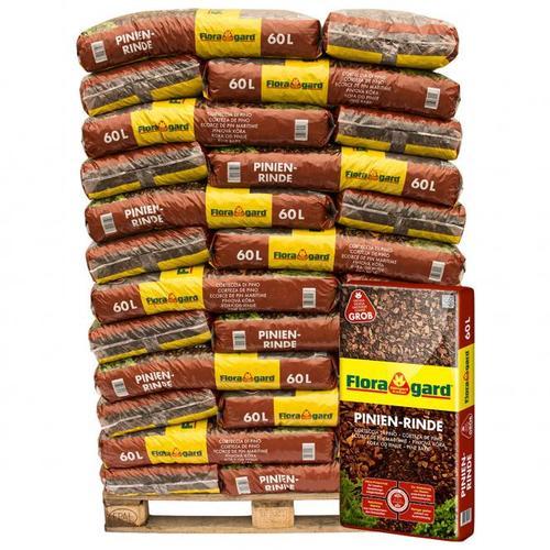 Großgebinde Pinienrinde 25-40 mm, 34 Säcke á 60 Liter