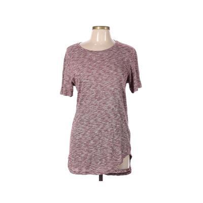 PacSun Short Sleeve T-Shirt: Burgundy Tops - Size Medium