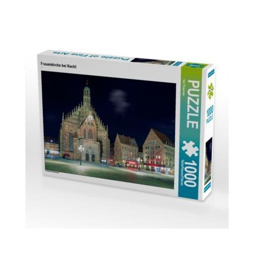 Frauenkirche bei Nacht Foto-Puzzle Bild von Val Thoermer Puzzle