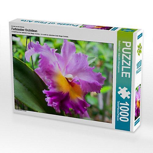 Farbzauber Orchideen Foto-Puzzle Bild von Babett''s Bildergalerie Puzzle
