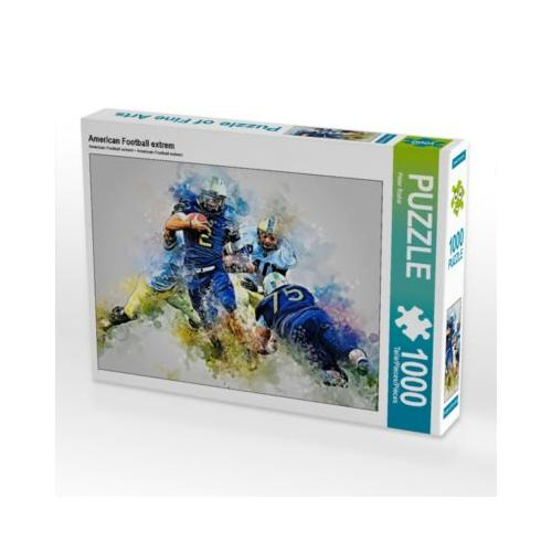 American Football extrem Foto-Puzzle Bild von Peter Roder Puzzle