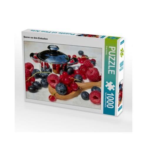 Beeren vor dem Einkochen Foto-Puzzle Bild von Rose Hurley Puzzle