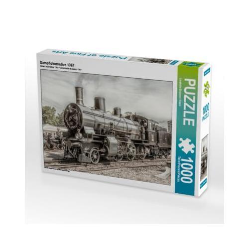 Dampflokomotive 1367 Foto-Puzzle Bild von Liselotte Brunner-Klaus Puzzle