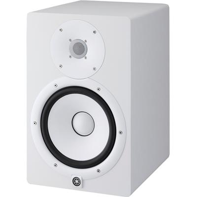 Yamaha Lautsprecher Studio Monitor Box HS8W, hochauflösender Klang und authentische Wiedergabe weiß