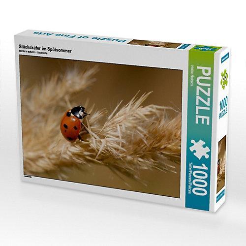 Glückskäfer im Spätsommer Foto-Puzzle Bild von Heike Hultsch Puzzle