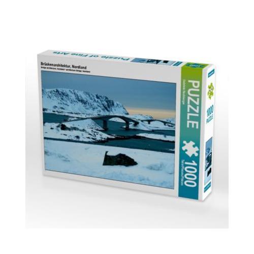 Brückenarchitektur, Nordland Foto-Puzzle Bild von Gabriele Rechberger Puzzle