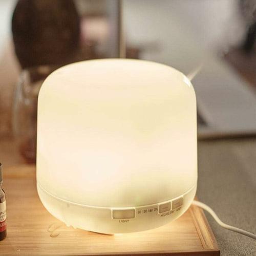 Bares - Aromatherapie Maschine nach Hause Mini 600ml Plug-in bunte Ultraschall ätherische Öl
