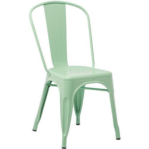 SKLUM Pack 4 Stühle LIX Stahl Grün Minze - Grün Minze