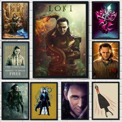 Tom Hiddleston LOKI – affiche cl...