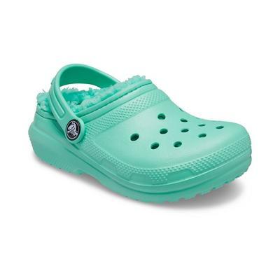 Crocs Pistachio Kids' Classic Lined Clog Shoes