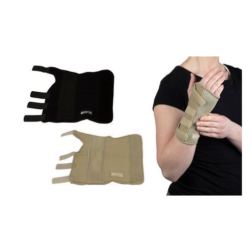Handgelenkstütze: linkes Handgelenk / Schwarz / Gr. XL
