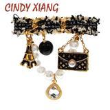 CINDY XIANG – broches de perles ...