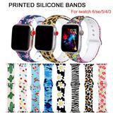 Bracelet imprimé pour Apple Watc...