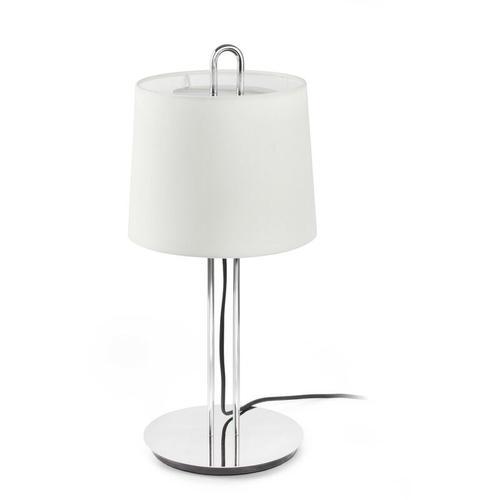 MONTREAL Tischleuchte chrom / weiß