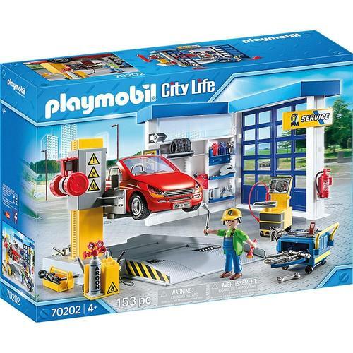 PLAYMOBIL® PLAYMOBIL® 70202 Autowerkstatt